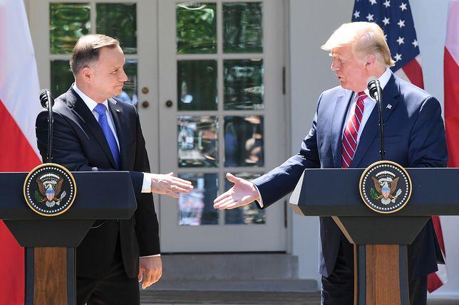 """Andrzej Duda przyznał, że mówienie o """"Fort Trump"""" było strategię negocjacyjną"""