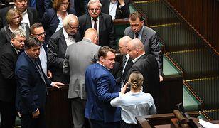 Do zdarzenia doszło w czasie debaty nad reformą Sądu Najwyższego