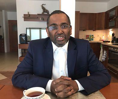 Adil Abdel Aati może być przyszłym prezydentem Sudanu. Teraz mieszka w Warszawie