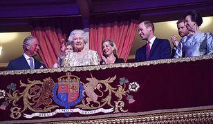William, Harry i Meghan na koncercie z okazji urodzin królowej Elżbiety. Wyjątkowy wieczór u Windsorów