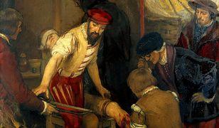 """Ambroise Paré (na ilustracji szykuje się do amputacji nogi pacjenta) miał wiele intrygujących pomysłów na temat właściwości """"leczniczych"""" metali ciężkich i… odchodów"""