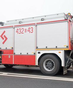 Pożar domu w Tarnowskich Górach. Ewakuowano 29 osób