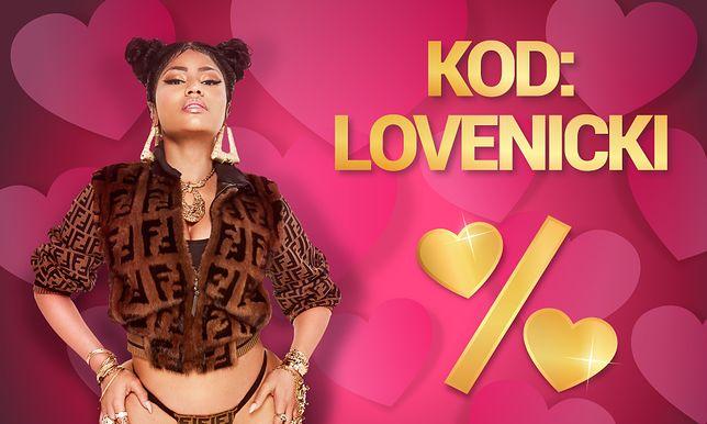 Z okazji Walentynek można kupić dwa bilety w cenie jednego na koncert Nicki Minaj