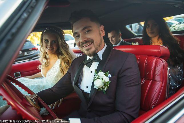 Daniel Martyniuk z żoną