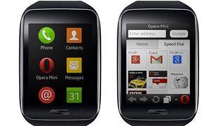 Opera Mini w zegarku Samsung Gear S