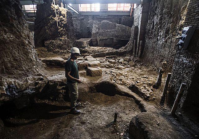 Zaskakujące odkrycie w Rzymie - zdjęcia