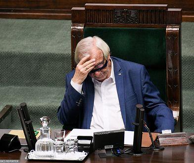 Ryszard Terlecki skrytykował działania opozycji w Sejmie