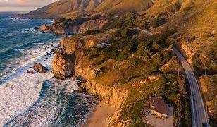 USA. Fragment autostrady w Kalifornii runął do oceanu