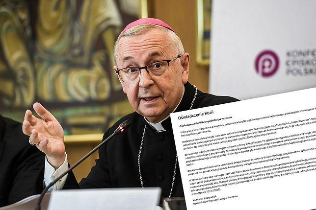Poznań. Sprawa b. księdza Krzysztofa G. Jest oświadczenie kurii