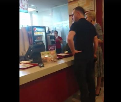 """Andrzej Duda z żoną w KFC. """"Byłam na zakupach i nagle ich zobaczyłam"""""""