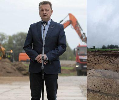 Budowa Muzeum Bitwy Warszawskiej. Pierwszy dzień prac i pusto...