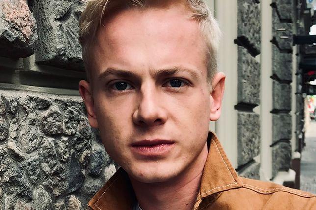 Mateusz Burdach ma 28 lat i zagrał już w kilku popularnych serialach