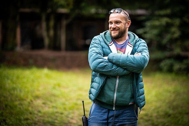 """Łukasz Palkowski, reżyser serialu """"Żmijowisko"""""""