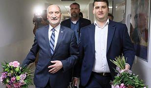 Antoni Macierewicz i Bartłomiej Misiewicz uczestniczyli we wtorek w sympozjum dot. bezpieczeństwa Polski