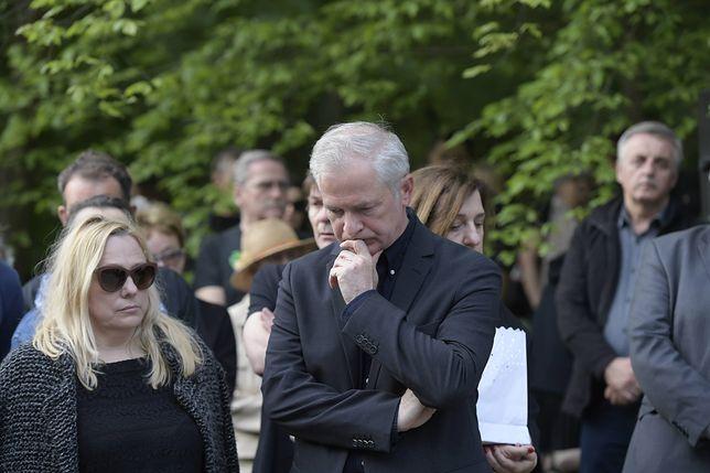 Sławomir Rybicki był obecny na ekshumacji brata