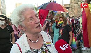 """Protest LGBT w Warszawie. """"Do tej pory nie było tak jawnej nagonki"""""""