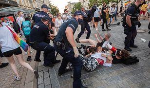 Protest w Warszawie. Nowe informacje ws. zatrzymanych