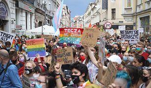 Zatrzymanie Margot. Demonstracja w Poznaniu
