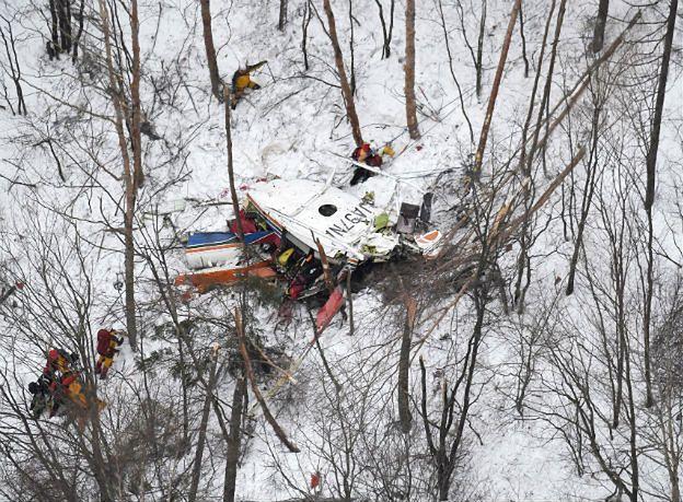 Japonia: dziewięć osób zginęło w katastrofie śmigłowca