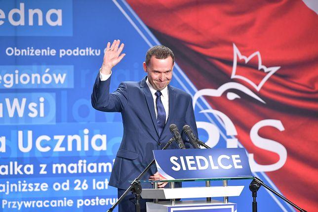 Karol Tchórzewski na konwencji wyborczej