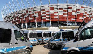 Służby będą kontrolować okolice Zamku Królewskiego i Stadionu Narodowego