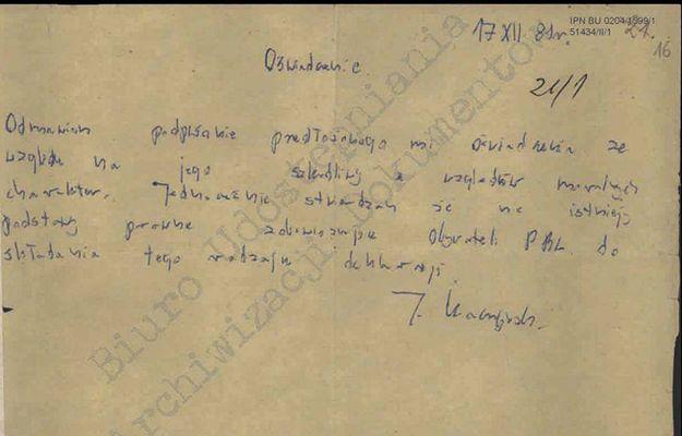 """Fronda publikuje oświadczenie J. Kaczyńskiego. """"Odmawiam podpisania"""""""