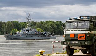 Bombę unieszkodliwią specjaliści z 8. Flotylli Obrony Wybrzeża