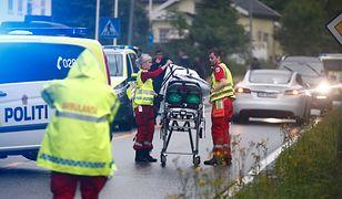 Policja na miejscu strzelaniny w meczecie pod Oslo