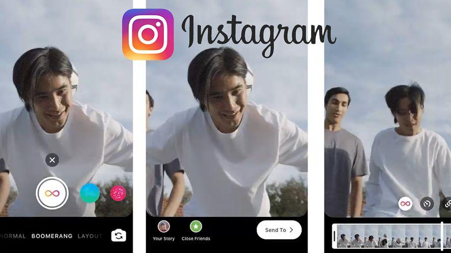 Nowe możliwości w edycji wideo na Instagram Boomerang (fot. Instagram)