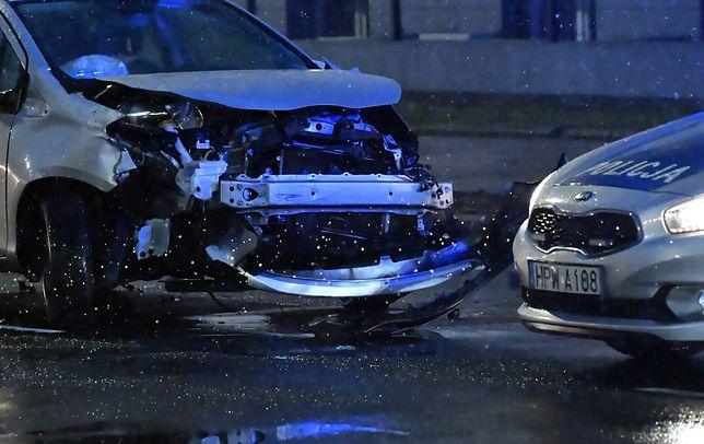 Szczecin. Zderzenie dwóch samochodów osobowych