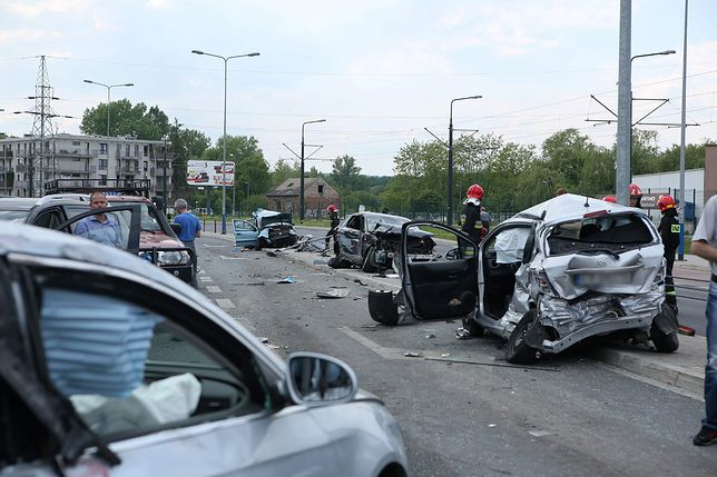 Wypadki drogowe