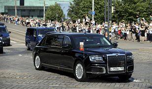 Limuzyna Władimira Putina w Helsinkach
