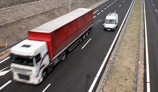 1 stycznia zakaz ruchu ciężarówek