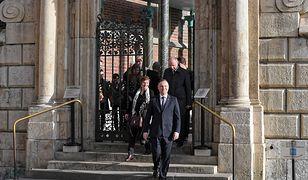 Andrzej Duda był na grobie pary prezydenckiej