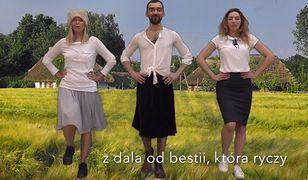 Paulina Młynarska nagrała kolejną piosenkę. Tym razem wyśmiała Beatę Szydło