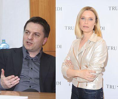Bogdan Rymanowski i Paulina Młynarska