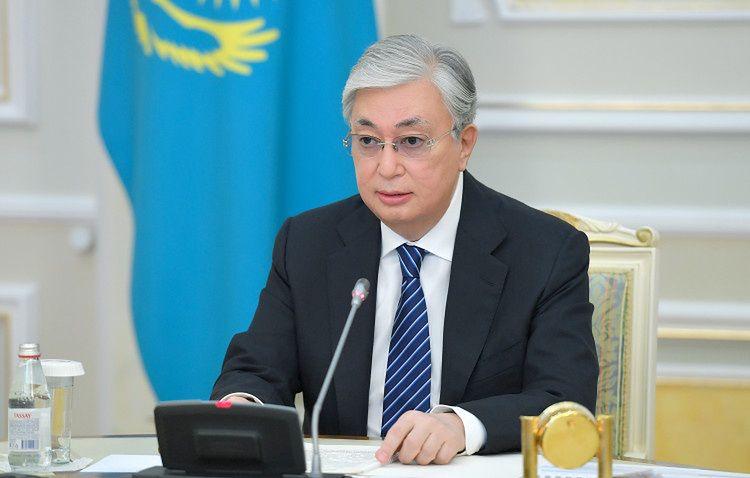 Prezydent Kazachstanu Kasym-Żomart Tokajew