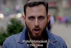 """""""Polacy, nigdy nie pozwolimy wam negować Holokaustu"""". Nie tylko klip, w Tel Avivie billboardy"""