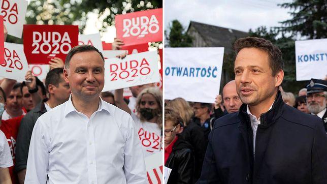 """Wyniki wyborów 2020. """"Obaj kandydaci przedstawili wyborcom wyraźną wizję przyszłości"""" - stwierdza BBC"""
