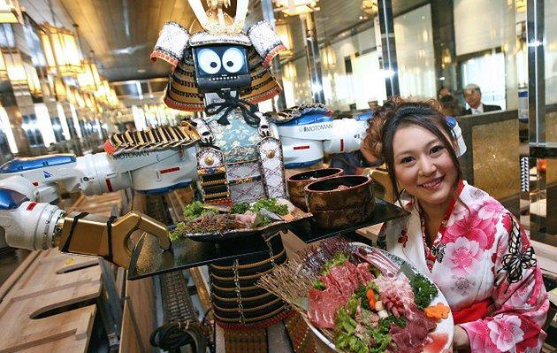 Kelner - robot