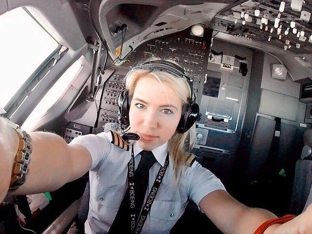 Młodą panią pilot obserwuje na Instagramie ponad 70 tys. osób