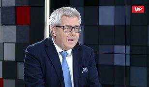 """""""Pitu, pitu"""". Ryszard Czarnecki broni rządu i nie wróży dobrze Donaldowi Tuskowi"""