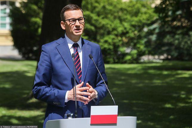 Premier Mateusz Morawiecki komentuje aferę mailową (zdj. arch.)