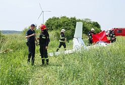 Katastrofa szybowca podczas zawodów lotniczych. Pilot nie żyje
