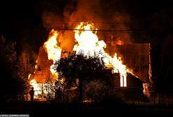 Pożar w Bańskiej Wyżnej. Ogień strawił drewniany dom