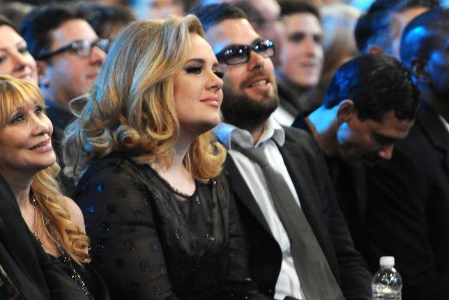 Adele i Simon Konecki w 2012 r.