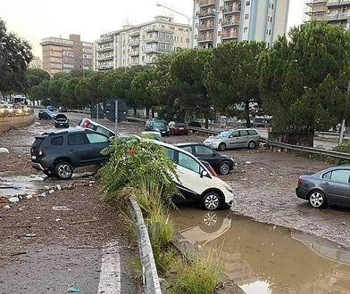 Włochy. Gigantyczna ulewa w Palermo