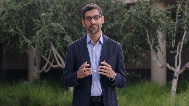 Szef Google'a Sundar Pichai