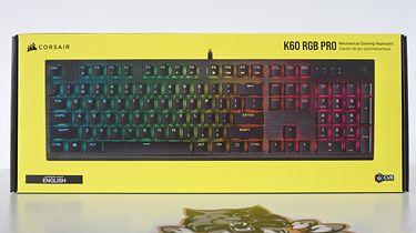 Corsair //K60 RGB PRO — klawiatura z MX Viola na pokładzie