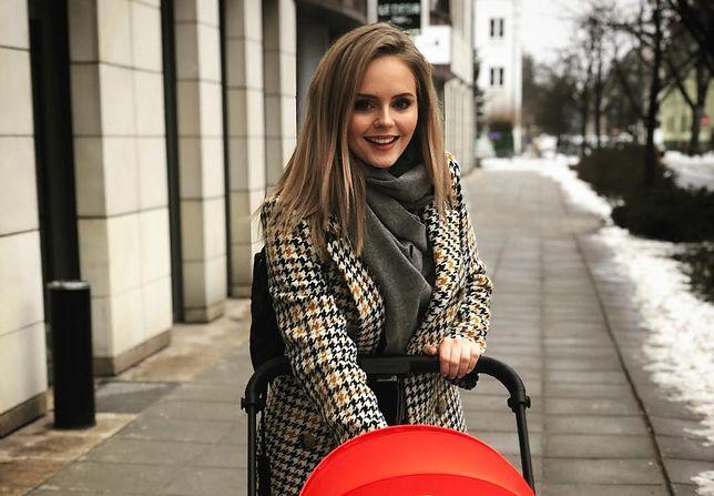 Olga Kalicka pokazała drugi wózek. Wybrała firmę gwiazd